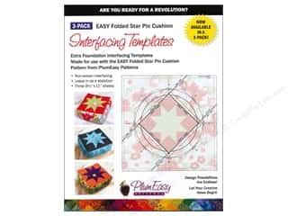 PlumEasy Patterns Interfacing Templates PinCush3pc
