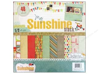 DieCuts with a View Clearance: Die Cuts With A View 12 x 12 in. Paper Stack My Sunshine