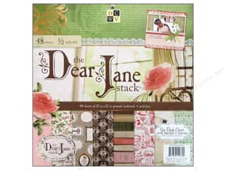 DieCuts with a View Clearance: Die Cuts With A View 12 x 12 in.Cardstock Mat Stack Dear Jane