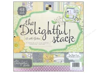 Die Cuts 12 x 12 in. Cardstock Mat Stack Delightful