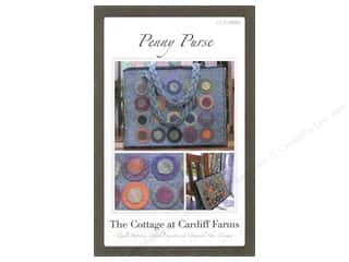 Lila Tueller Designs Tote Bags / Purses Patterns: The Cottage At Cardiff Farms Penny Purse Pattern
