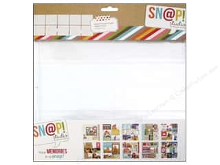 Scrapbook / Photo Albums Pockets & Page Protectors: Simple Stories Page Protector Snap Assorted