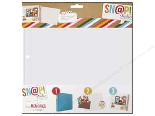 Scrapbook / Photo Albums Pockets & Page Protectors: Simple Stories Page Protector Snap Design 1