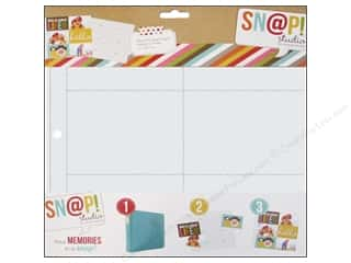 Scrapbook / Photo Albums Pockets & Page Protectors: Simple Stories Page Protector Snap Design 2