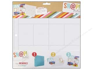 Scrapbook / Photo Albums Pockets & Page Protectors: Simple Stories Page Protector Snap Design 3