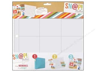 Scrapbook / Photo Albums Pockets & Page Protectors: Simple Stories Page Protector Snap Design 5