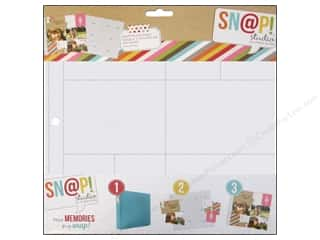 Scrapbook / Photo Albums Pockets & Page Protectors: Simple Stories Page Protector Snap Design 6