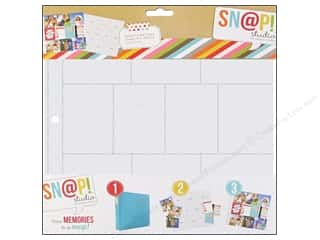 Scrapbook / Photo Albums Pockets & Page Protectors: Simple Stories Page Protector Snap Design 10