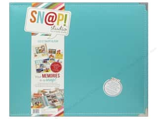 Weekly Specials Stitch Witchery: Simple Stories Album Snap Leather 12x12 Teal