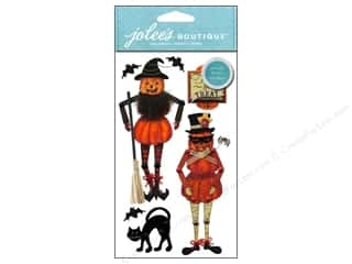 Jolee's Boutique Stickers Large Moveable Jack O Lanterns