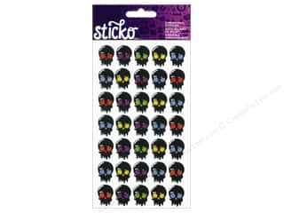 Dads & Grads Stickers: EK Sticko Stickers Halloween Skulls