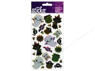 EK Sticko Stickers Epoxy Friendly Halloween