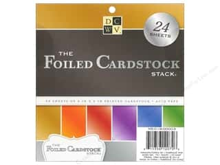 DieCuts Stacks Cardstock 6x6 Foiled