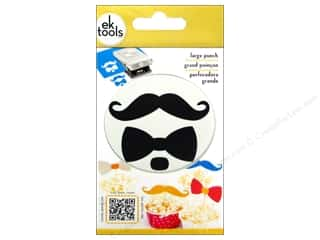 Father's Day Scrapbooking & Paper Crafts: EK Paper Shapers Large Punch Bow And Mustache