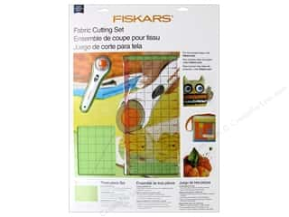 Weekly Specials Quilting Rulers: Fiskars Rotary Cutter Set Fabric 3pc