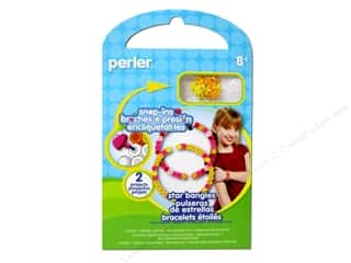 Stars Beading & Jewelry Making Supplies: Perler Fused Bead Kit Star Bangles