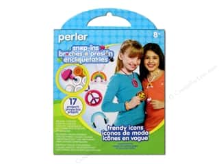Projects & Kits Hearts: Perler Snap-Ins Activity Kit Trendy Icons