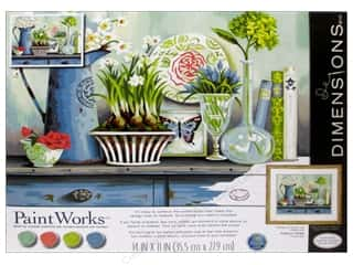 Projects & Kits: Paintworks Paint By Number Kit 14 x 11 in. Vintage Collectibles