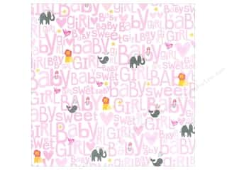 MAMBI Paper 12x12 Animal 2 Baby Girl (15 piece)