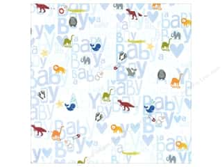 MAMBI Paper 12x12 Animal 2 Baby Boy (15 piece)