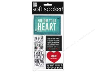 MAMBI Sticker Soft Spoken Follow Your Heart