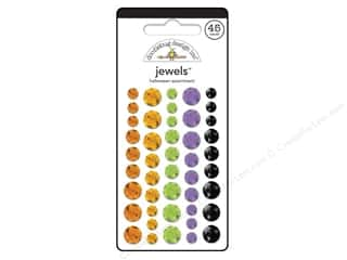 Jewel Craft Black: Doodlebug Stickers Halloween Parade Jewels