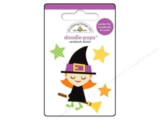 sticker: Doodlebug Doodle-Pops 3-D Stickers Be Witchy