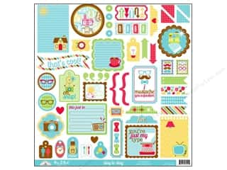 Mother's Day Scrapbooking & Paper Crafts: Doodlebug Stickers Day To Day Cardstock This & That
