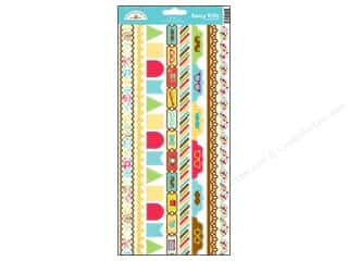 Borders: Doodlebug Stickers Day To Day Cardstock Fancy Frills