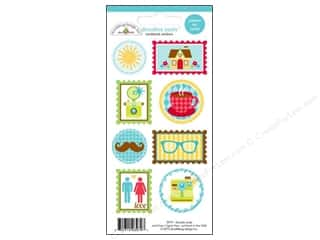Quilt in a Day Clearance Crafts: Doodlebug Stickers Day To Day Doodle Seals