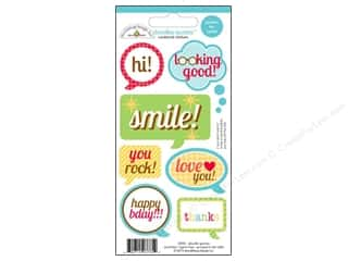 Captions Clearance: Doodlebug Stickers Day To Day Doodle Quotes