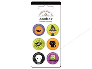 button: Doodlebug Doodads 6pc Halloween Parade