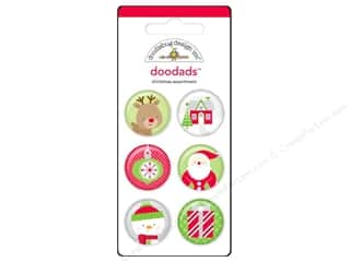 button: Doodlebug Embel Home/Holidays Doodads 6pc