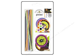 Halloween Baking Supplies: Doodlebug Embellishment Halloween Parade Pixies Set