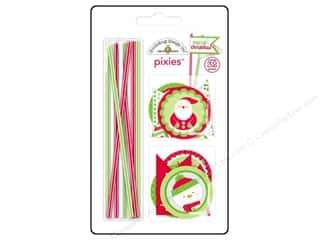 Doodlebug Embel Home/Holidays Pixies Set