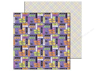 Doodlebug Paper 12x12 Hall Parade Every Witch Way (25 piece)