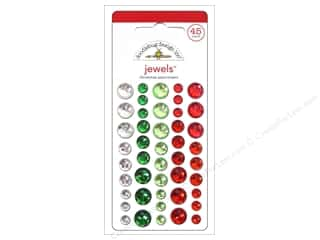 Doodlebug Sticker Home/Holidays Jewels Christmas
