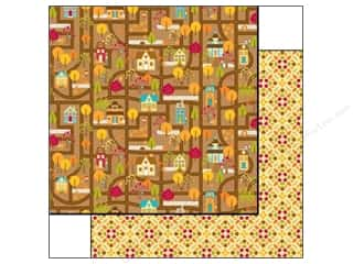 Doodlebug Paper 12x12 Happy Harvest Homes (25 piece)