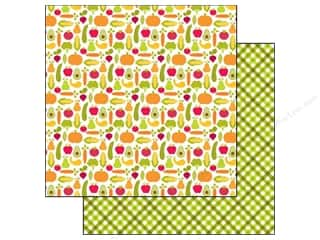 Doodlebug Paper 12x12 Happy Harvest Garden Grown (25 piece)