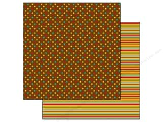 Doodlebug Paper 12x12 Happy Harvest Dots (25 piece)