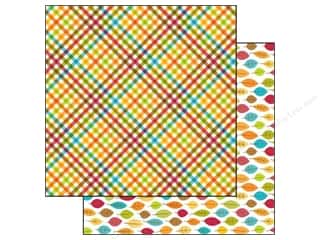 Doodlebug Paper 12x12 Happy Harvest Plentifl Plaid (25 piece)