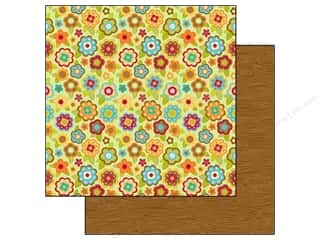 Doodlebug Paper 12x12 Happy Harvest Fall Flowers (25 piece)