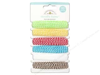Doodlebug Doodle Twine Day To Day Assortment 6 pc.