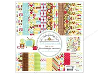 Doodlebug Paper 12 x 12 in. Day To Day Assorted Pack
