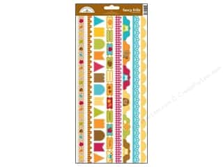 Captions Fall / Thanksgiving: Doodlebug Stickers Happy Harvest Cardstock Fancy Frills