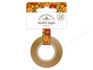 Doodlebug Washi Tape 5/8 in. x 12 yd. Fall Flowers