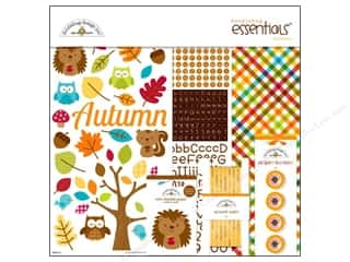 button: Doodlebug Kit Essentials Paper Happy Harvest