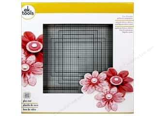 "Cutting Mats Scissors, Edgers & Paper Cutting Tools: EK Tool Glass Mat 13""x 13"""