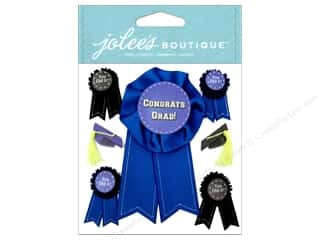 Graduations Stickers: Jolee's Boutique Stickers Graduation Caps And Ribbons