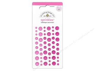Doodlebug Hot: Doodlebug Stickers Sprinkles Bubblegum
